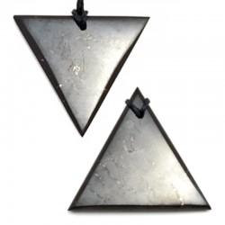 Pendentif Triangle en Shungite
