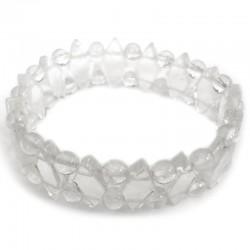 Bracelet Maya en Cristal de Roche