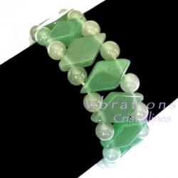 Bracelet Maya en Aventurine Verte