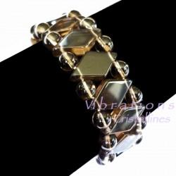 Bracelet Maya en Quartz Fumé