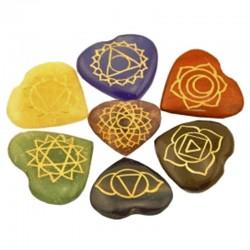 Coeurs 7 Chakras