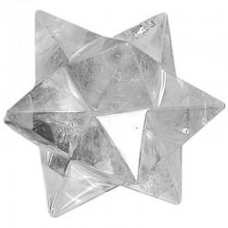 Dodécaèdre Etoilé en Cristal de Roche