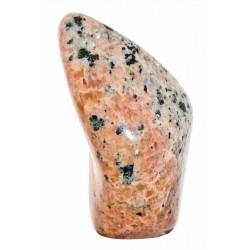 Forme libre en Calcite Orange