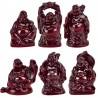 Statuettes Bouddhas Rieurs
