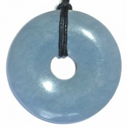 Pendentif Donut en Angélite