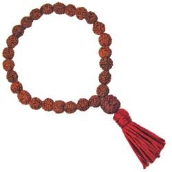 Bracelet Mala en Rudraksha
