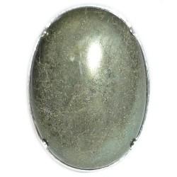 Bague Argent & Pyrite