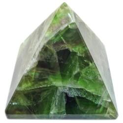 Pyramide en Fluorite