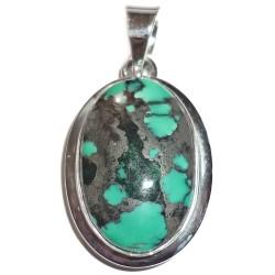 Pendentif en Turquoise & Argent