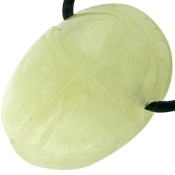 Pendentif Scarabée en Jade de Chine