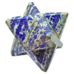Merkaba en Lapis-Lazuli