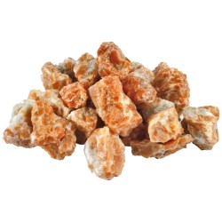 Calcite Orange Brute en Sachet