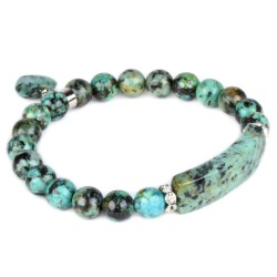 Bracelet Charme en Turquoise