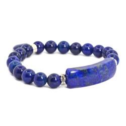 Bracelet Charme en Lapis-Lazuli