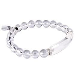 Bracelet Charme en Cristal de Roche