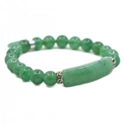 Bracelet Charme en Aventurine Verte