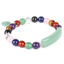Bracelet Charme Multi-pierres